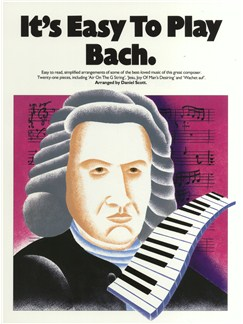 It's Easy To Play Bach Books | Piano
