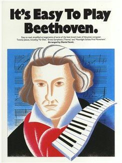 It's Easy To Play Beethoven Livre | Piano