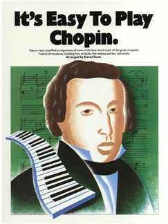 It's Easy To Play Chopin Books | Piano