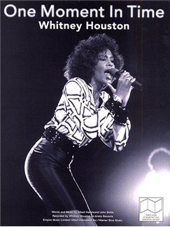 Whitney Houston: One Moment In Time Books | Piano, Vocal & Guitar