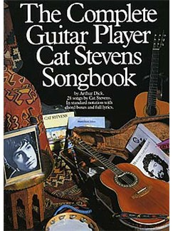 The Complete Guitar Player - Cat Stevens Songbook Books | Melody line, Lyrics & Chord, with guitar chord boxes