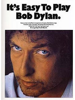 It's Easy To Play Bob Dylan Books | Piano and Voice, with Guitar chord symbols