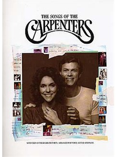 The Songs Of The Carpenters Books | Piano and Voice, with Guitar chord symbols