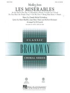 Alain Boublil/Claude-Michel Schonberg: Les Miserables - Medley (SSA) Books | SSA, Piano Accompaniment