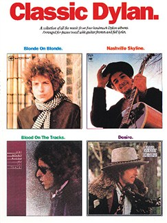 Classic Dylan Books | Piano and Voice, with Guitar chord boxes