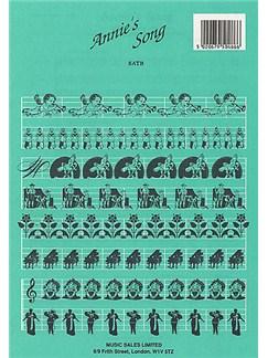 John Denver: Annie's Song (SATB/Piano) Books | Soprano, Alto, Tenor, Bass, Piano