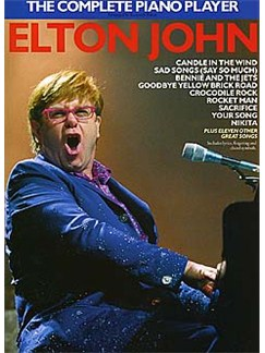 The Complete Piano Player: Elton John Books | Piano and Voice, with Guitar chord symbols