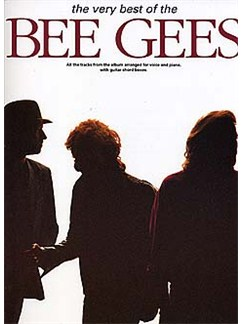 The Very Best Of The Bee Gees Livre | Piano, Chant et Guitare (Boîtes d'Accord)