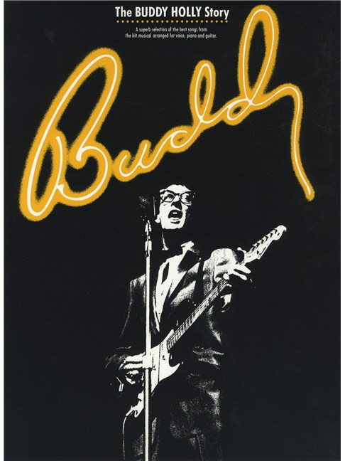 Buddy: The Buddy Holly Musical - Piano, Vocal & Guitar Sheet Music ...