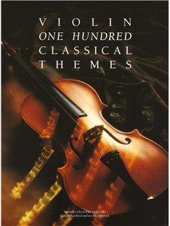 100 Classical Themes For Violin Livre | Violon