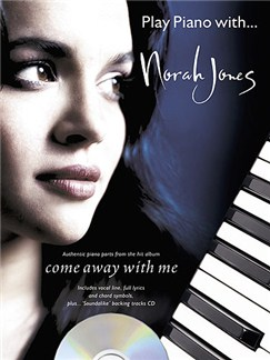 Play Piano With... Norah Jones Books and CDs | Piano, Vocal & Guitar (with Chord Boxes)
