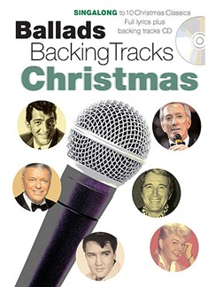 Ballads Backing Tracks: Christmas Books and CDs | Lyrics Only
