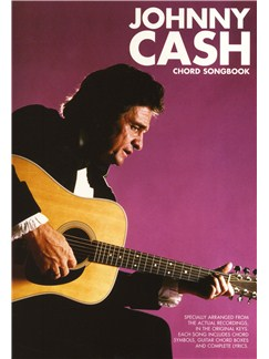 Johnny Cash: Chord Songbook Livre | Paroles et Accords (Boîtes d'Accord)