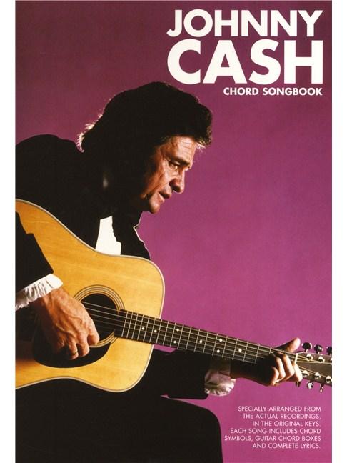 Johnny Cash: Chord Songbook - Lyrics & Chords Sheet Music - Sheet ...