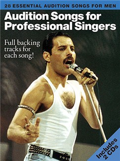 Audition Songs For Professional Male Singers Bog og CD | Klaver, sang og guitar(med grebsoversigt)