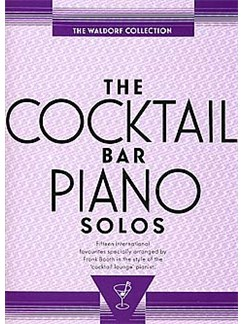 The Cocktail Bar Piano Solos: The Waldorf Collection Books | Piano & Guitar, with chord symbols