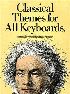 Classical Themes For All Keyboards Books | Keyboard, Piano, with chord symbols