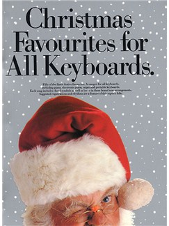 Christmas Favourites For All Keyboards Books | Piano and Voice, with Guitar chord symbols
