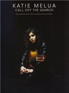 Katie Melua: Call Off The Search Books | Piano and Voice, with Guitar chord boxes