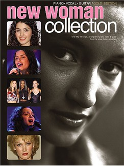 New Woman Collection: Gold Edition (PVG) Books | Piano, Voice, and Guitar chord boxes