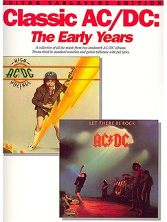 Classic AC/DC: The Early Years (TAB) Books | Guitar Tab, with chord symbols
