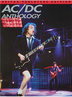 AC/DC Anthology (TAB) Books | Guitar Tab, with chord symbols