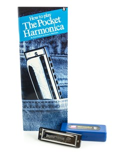 How To Play The Pocket Harmonica Books and Instruments | Harmonica