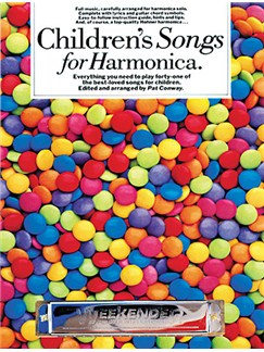 Children's Songs For Harmonica Books | Harmonica