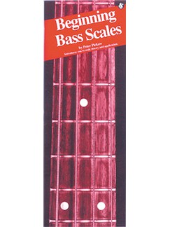 Beginning Bass Scales Books | Bass Guitar Tab, with chord symbols