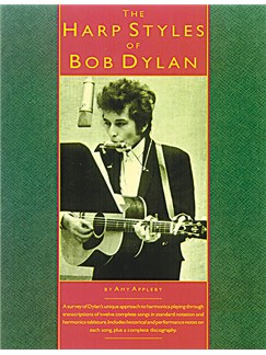 The Harp Styles Of Bob Dylan Books | Harmonica, with guitar chord boxes