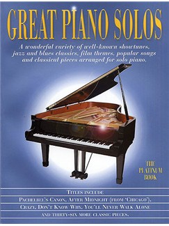 Great Piano Solos - The Platinum Book Books | Piano