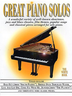 Great Piano Solos - The White Book Books | Piano (with Chord Symbols and Chord Boxes)