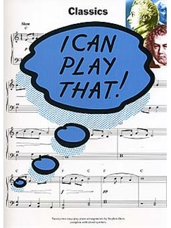 I Can Play That! Classics Books | Piano (with Chord Symbols)