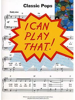 I Can Play That! Classic Pops Books | Piano, Lyrics & Chords