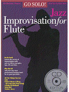 Go Solo! Jazz Improvisation For Flute Books and CDs | Flute, with chord symbols