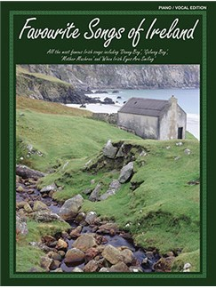 Favourite Songs Of Ireland Books | Piano, Vocal & Guitar (with Chord Symbols)