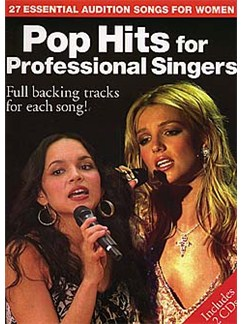 Pop Hits For Professional Singers CD et Livre | Piano, Chant et Guitare (Boîtes d'Accord)