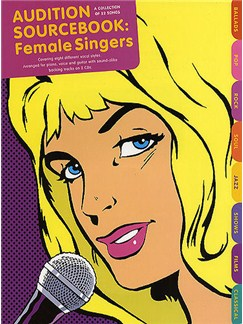 Audition Sourcebook: Female Singers Books and CDs | Piano, Vocal & Guitar