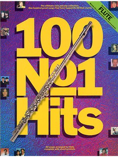 100 No.1 Hits For Flute Books | Flute, with chord symbols