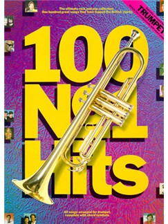 100 Number One Hits For Trumpet Books | Trumpet, with chord symbols