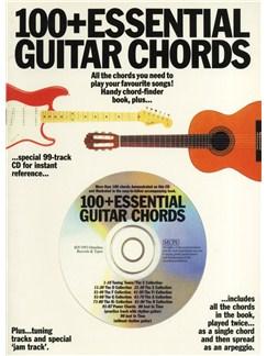 100+ Essential Guitar Chords (Book/CD) Books and CDs | Guitar
