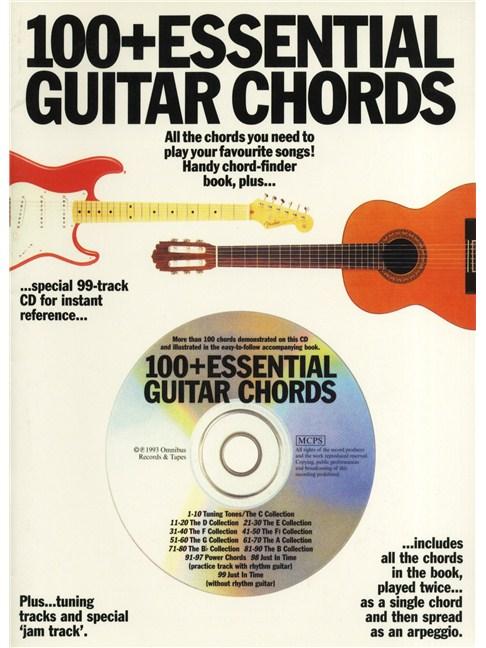 100+ Essential Guitar Chords (Book/CD) - Guitar Books - Tuition ...