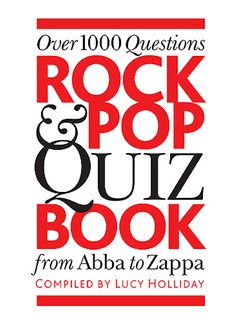 Rock And Pop Quiz Book Books |