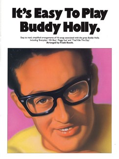 It's Easy To Play Buddy Holly Books | Piano and Voice, with Guitar chord symbols