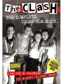 The Clash: The Complete Chord Songbook Books | Lyrics & Chords (with Chord Boxes)