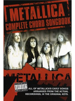 Metallica: Complete Chord Songbook - The Early Years Books | Lyrics & Chords