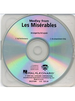 Medley From Les Miserables (ShowTrax CD) CDs | Voice