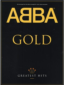 ABBA Gold: Greatest Hits Books | Piano and Voice, with Guitar Chord boxes