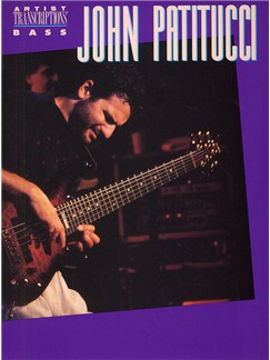 John Patitucci: Bass Artists Transcriptions Books | Bass Guitar, with chord symbols