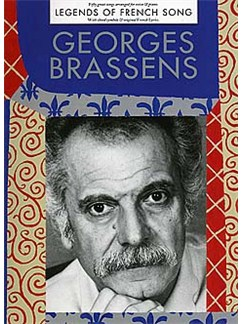 Georges Brassens: Legends Of French Song Livre | Piano, Chant et Guitare (Symboles d'Accords)